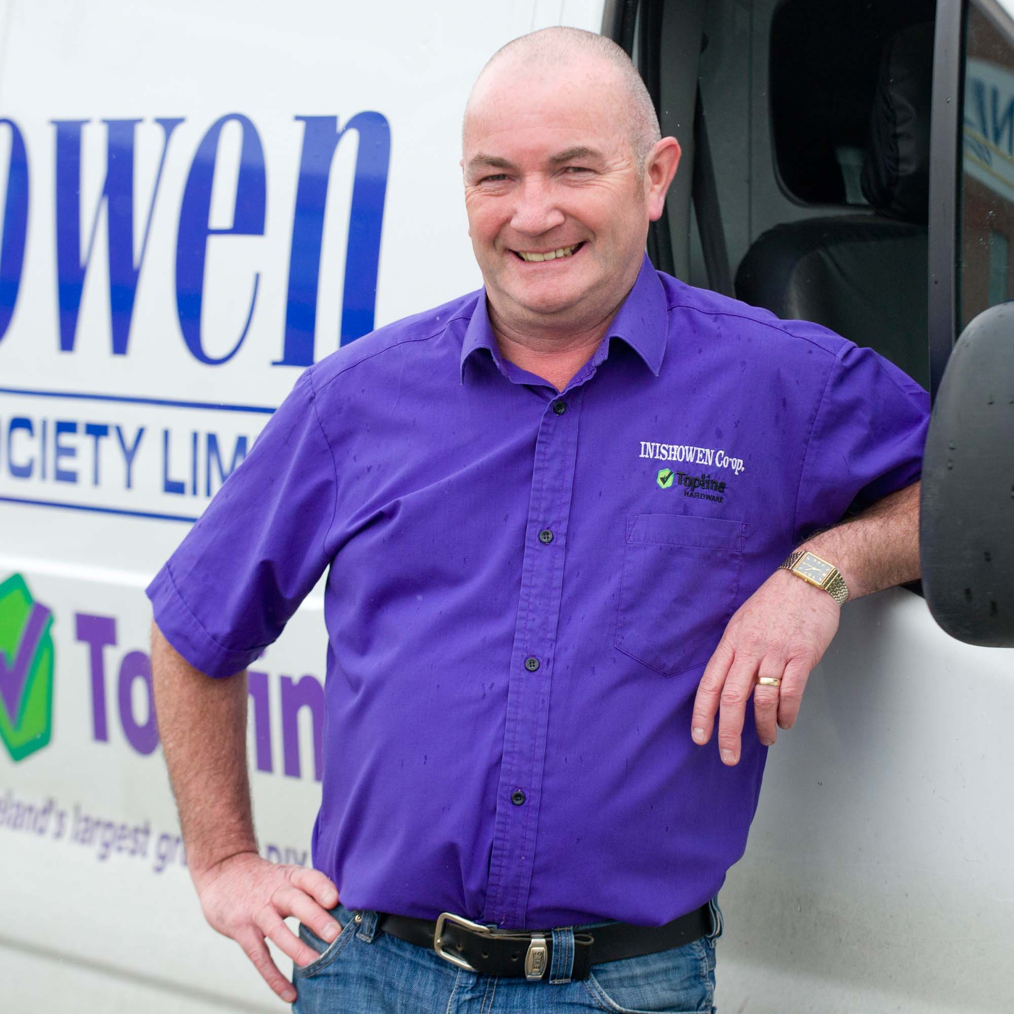Transport Manager - Barney McBride