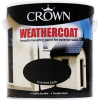 Crown  Weathercoat Colours Paint - 2.5 Litre