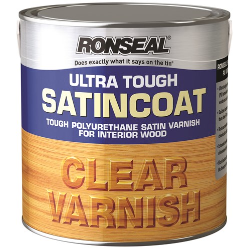 Ronseal  Ultra Tough Varnish Satin - 5 Litre
