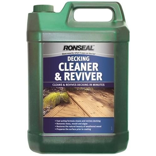 Ronseal  Decking Cleaner & Reviver - 5 Litre