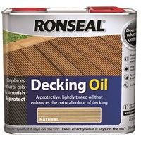Ronseal  Decking Oil - 2.5 Litre