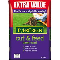 Evergreen  Cut & Feed Lawn Food - 500m²