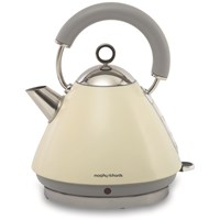Morphy Richards  Traditional Cream Kettle - 1.5 Litre