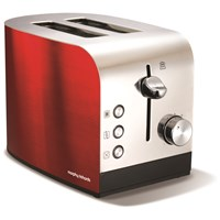 Morphy Richards  2 Slice Toaster - Red