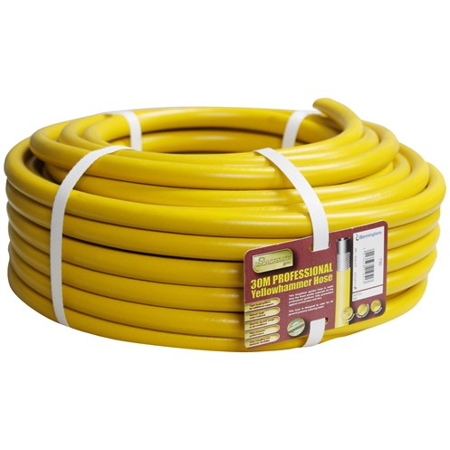 Kingfisher  Gold 30m Yellow Reinforced Garden Hose