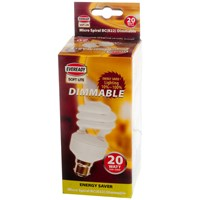Eveready  CFL Micro Spiral Soft Lite Light Bulb - 20W BC